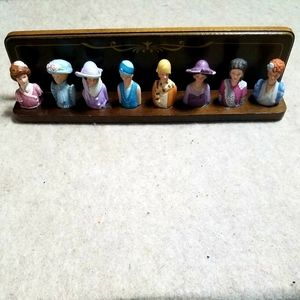 Vintage Collectible Avon Thimbles Complete Set